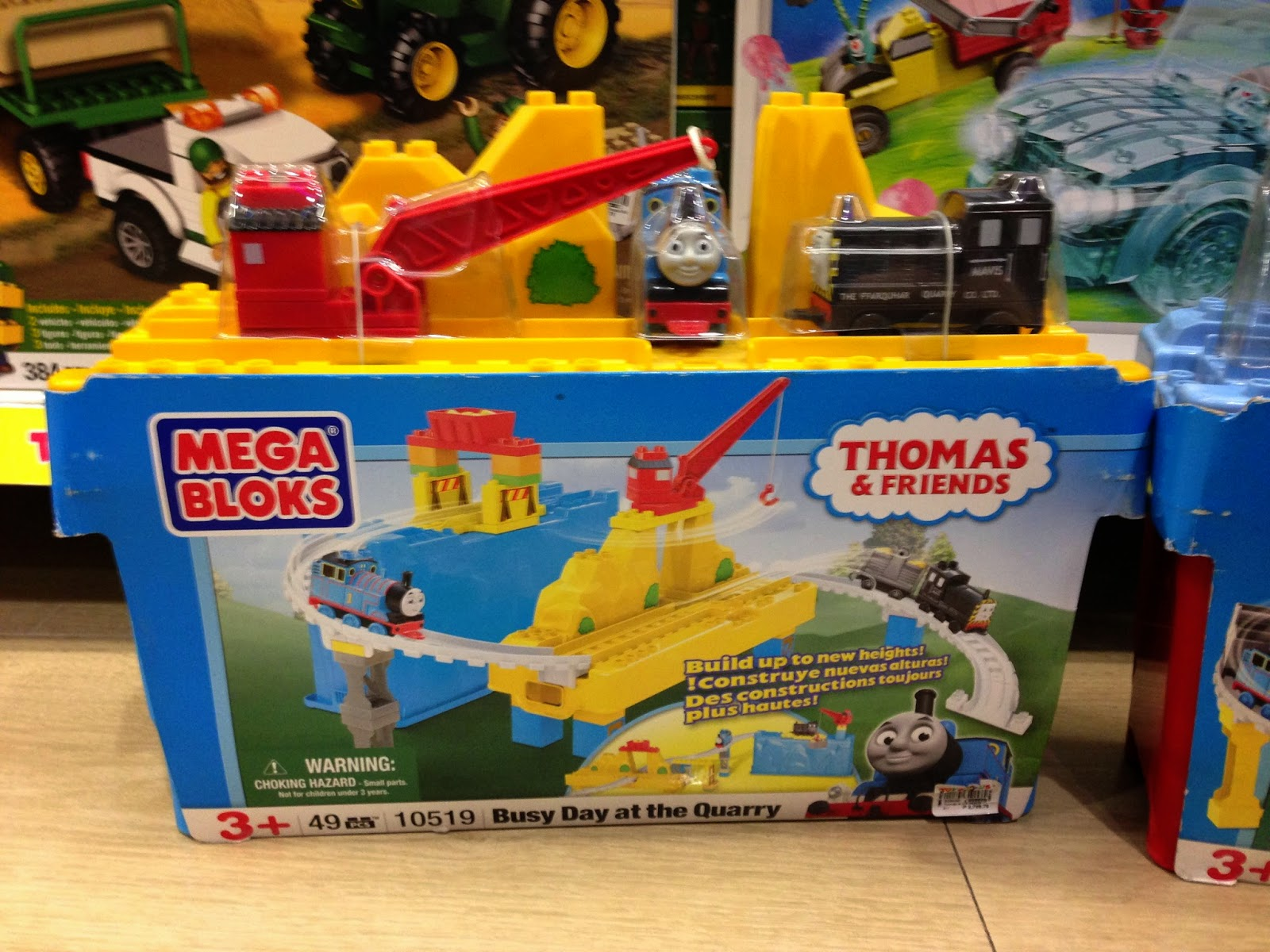 Thomas & Friends Mega Bloks on Sale in Manila, Philippines.  Toys R' Us and Toy Kingdom (Busy Day at the Quarry)