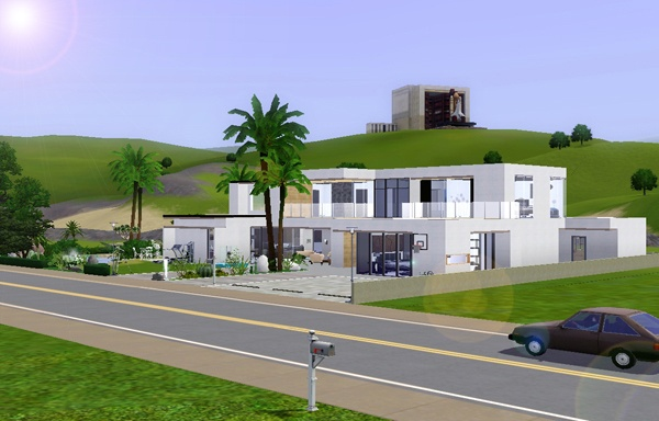 The sims 3 modern house design House modern