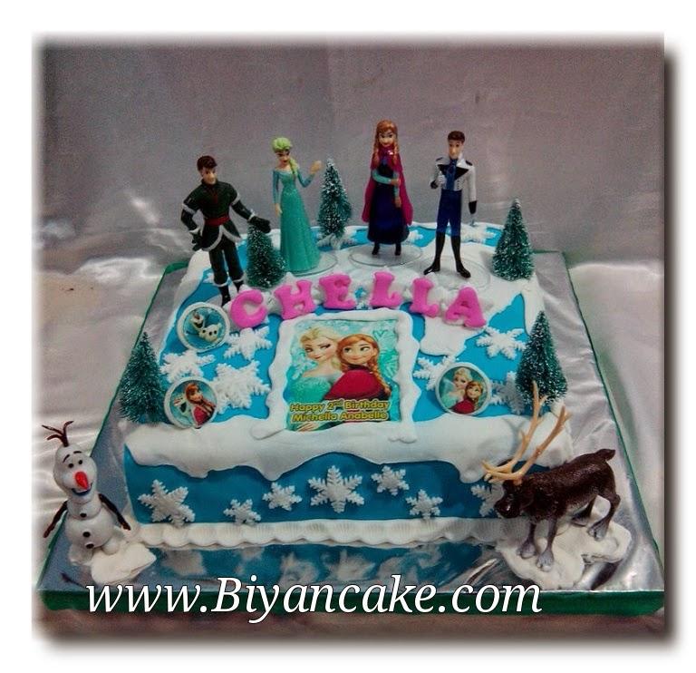 Cake frozen disney ~ Chella