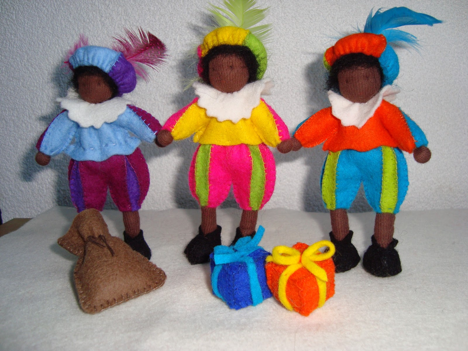 Evelyns Poppen Welkom Sinterklaas En Zwarte Pieten