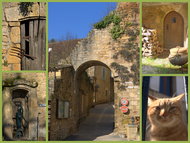 Our French garden in the beautiful Dordogne
