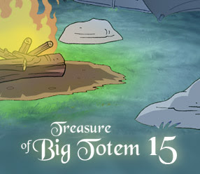 Solucion Treasures of Big Totem 15 Pistas