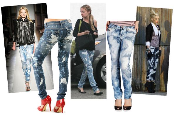 Если джинсы красят одежду в