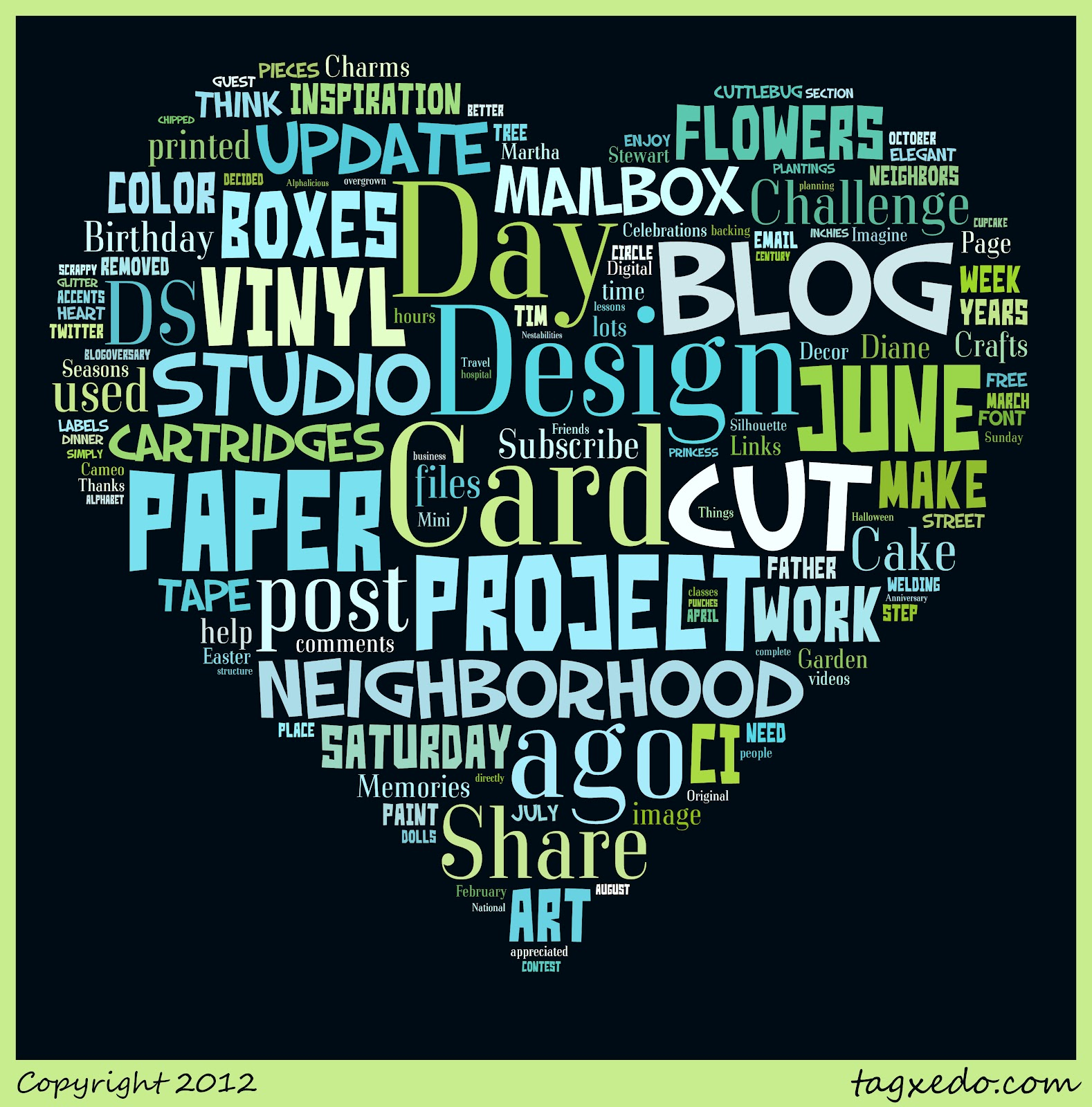 Capadia Designs: Word Clouds and Word Art