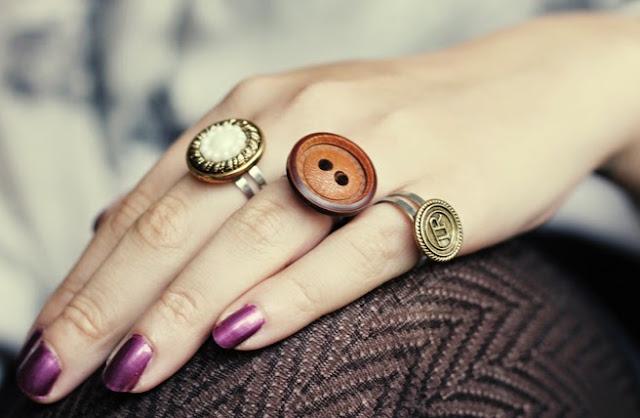 Riuso Creativo dei Bottoni per realizzare un anello