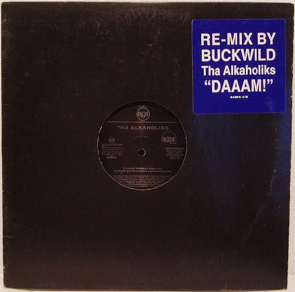 Tha Alkaholiks – DAAAM! Buckwild Remix (Promo VLS) (1995) (192 kbps)