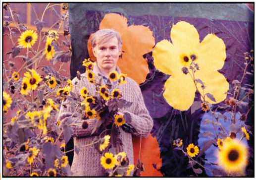 Photo by William John Kennedy- Warhol Flowers II