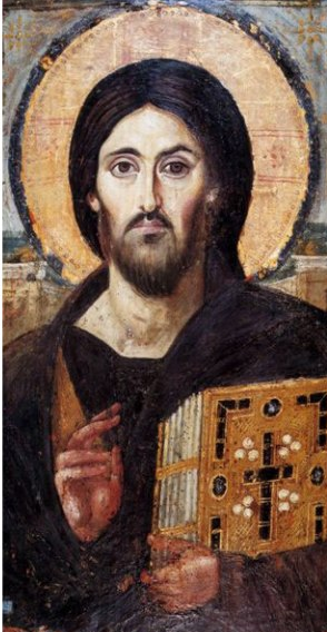 http://www.monasterygreetings.com/product/Christ_Pantocrator_Sinai_Icon/Holy_Land_Gifts