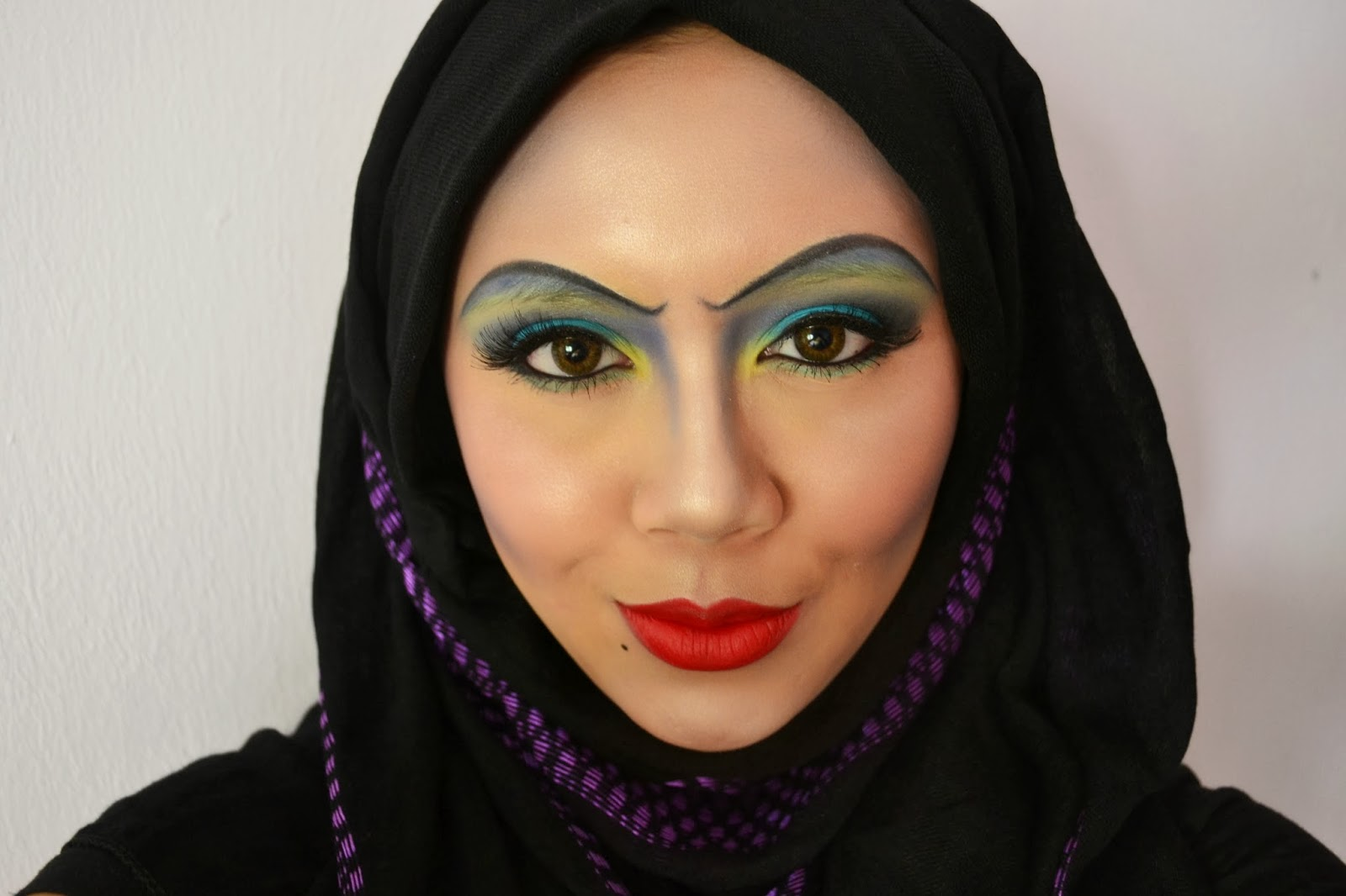Pink Marshmallow Halloween Disney Villain S Ursula Makeup Inspired