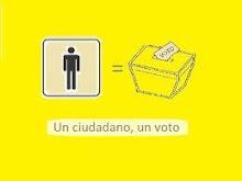 Firma para cambiar la Ley Electoral
