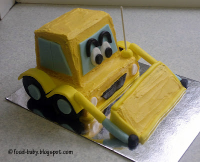Digger Cake © food-baby.blogspot.com All rights reserved
