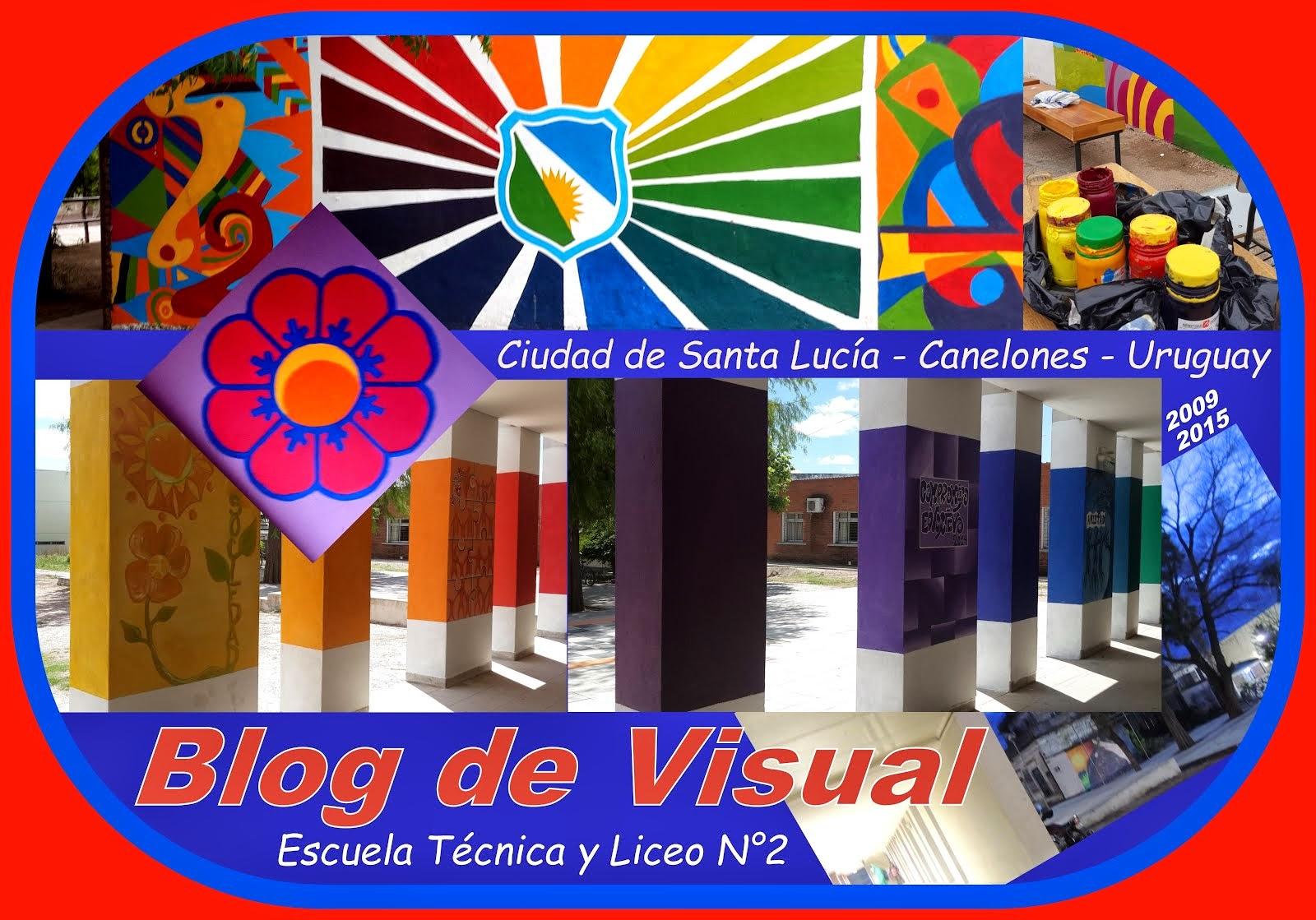 BLOG DE EXPRESIÓN VISUAL Y PLÁSTICA  2009 a 2016  SANTA LUCÍA - CANELONES - URUGUAY