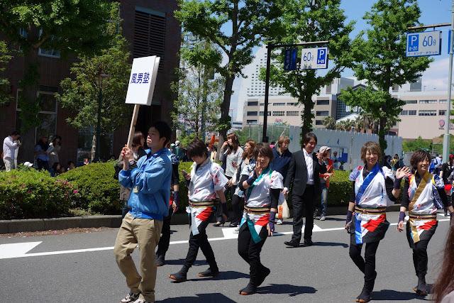 Yokohama International Parade cosplay
