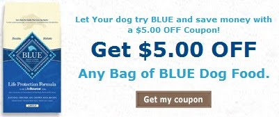 With Blue Buffalo products your pet is assured a healthy food made with select meats, whole grains and fruits derivatives naturally high in antioxidants. Give your pet the best, and save some cash using these printable coupons.