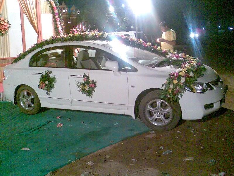 Decoration Wedding Car Decoration