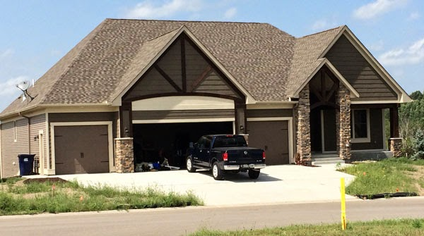 Beautiful Four Car Garage
