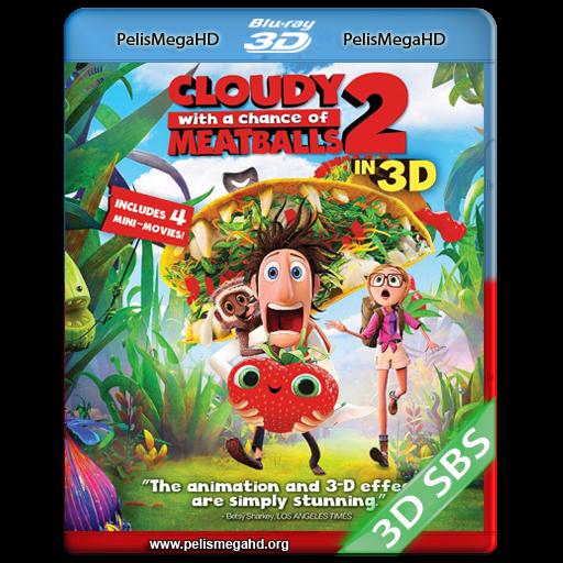 LLUVIA DE HAMBURGUESAS 2 (2013) FULL 3D SBS 1080P HD MKV ESPAÑOL LATINO
