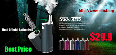 A Coupon Code for iSmoka iStick Basic 2300mAh Battery Box Mod
