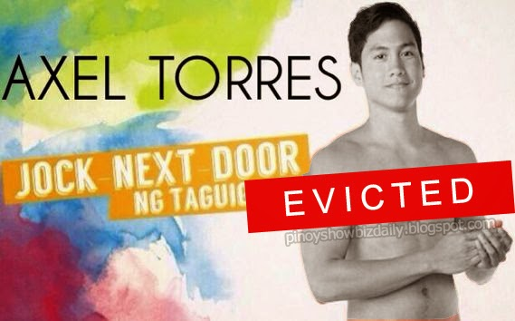 Axel gets evicted from PBB House on PBB 2nd Eviction