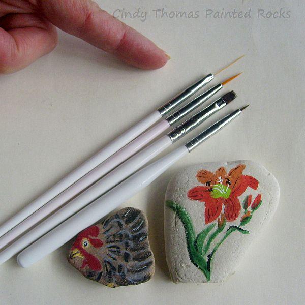 Painting Rock & Stone Animals, Nativity Sets & More: Nail Art ...