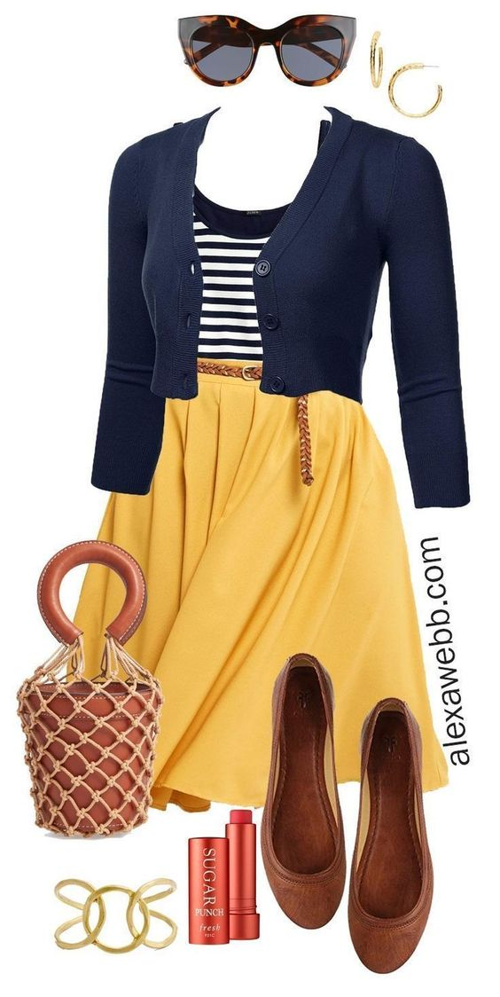 Outfits e ideas de moda para gorditas