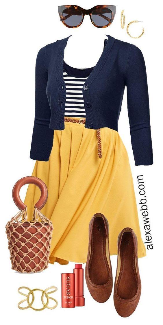 Outfits e ideas de moda para gorditas