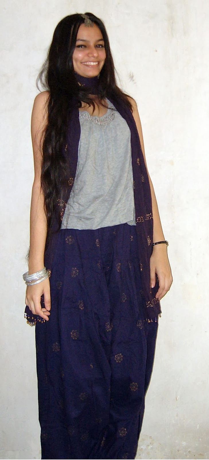 indian wear, how to wear a patiala, purle, grey, indian accents, mumbai streetstyle, indian fashion blogger, look for less