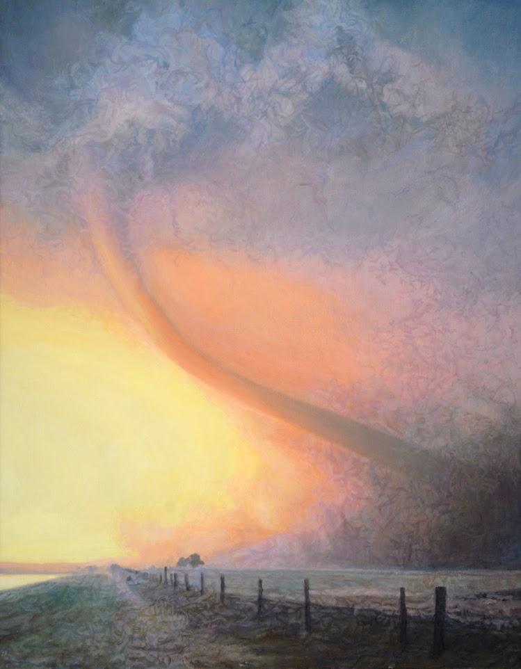 Strange Days, a painting by Amy Marx