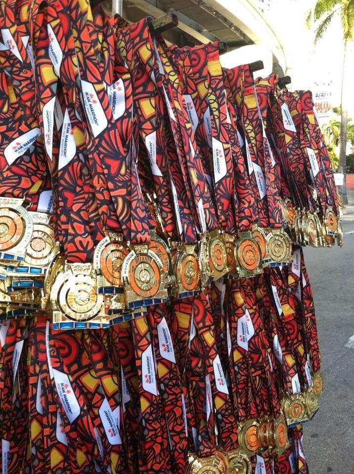 Maratón Miami Medalla 42k