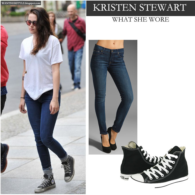 Black skinny jeans with converse