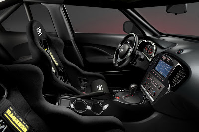 Nissan Juke Nismo Dark Knight Rises - interior - Batmovil - coches y motos 10