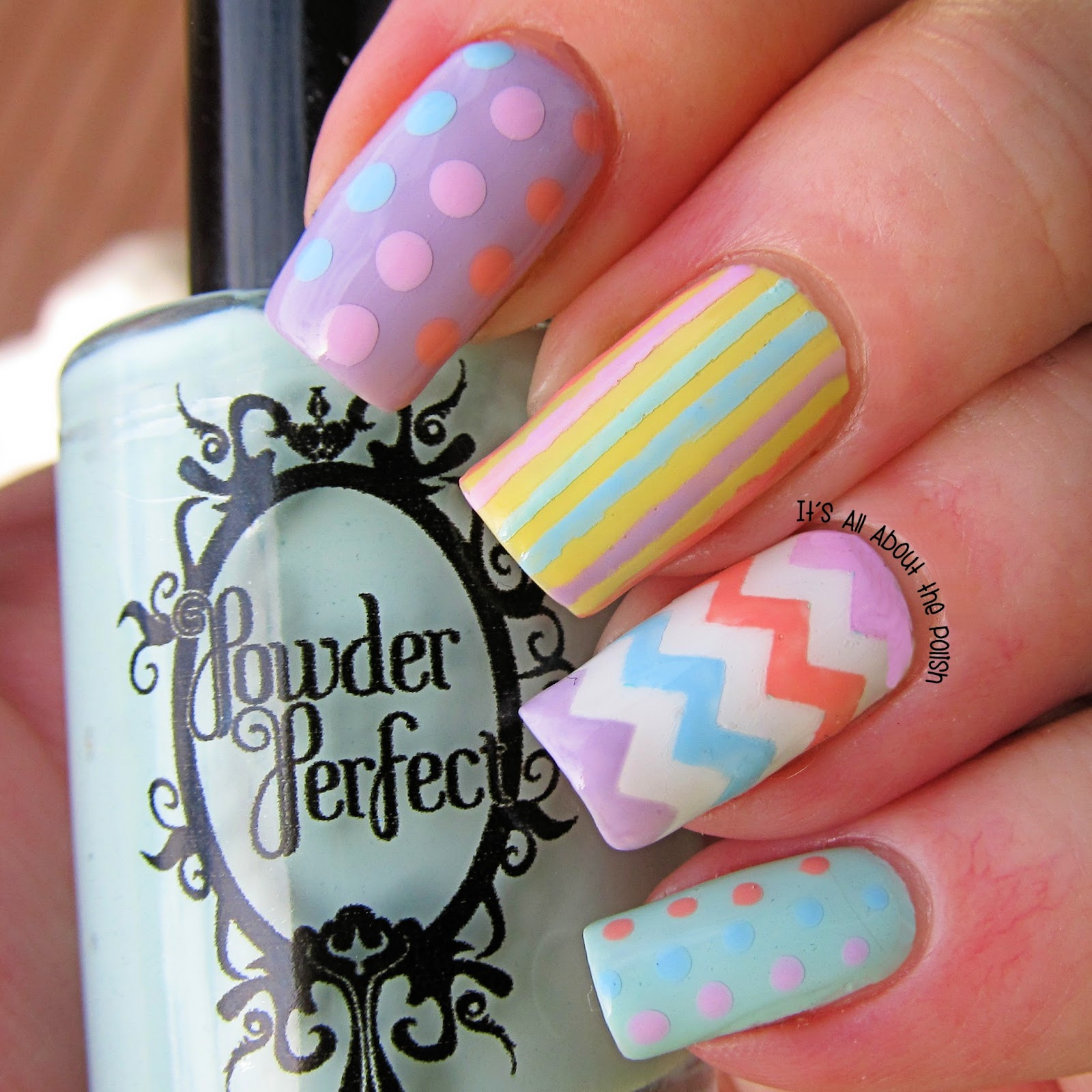 It\'s all about the polish: Easter Nail art with Stick Me Nails ...