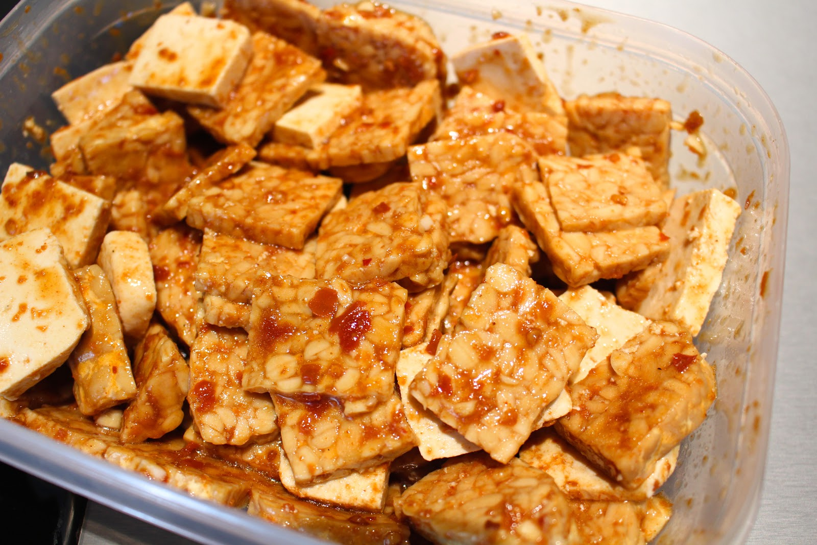 The best spicy tempeh and tofu marinade