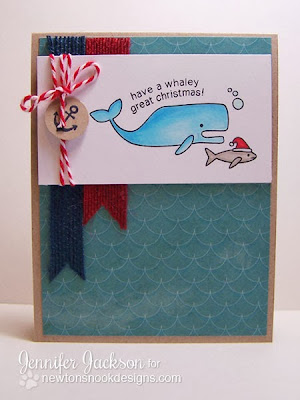 Whaley Great Christmas Card by Newton's Nook Designs