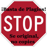 DILE NO AL PLAGIO!!!