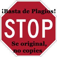 ¡¡¡DILE NO AL PLAGIO!!!