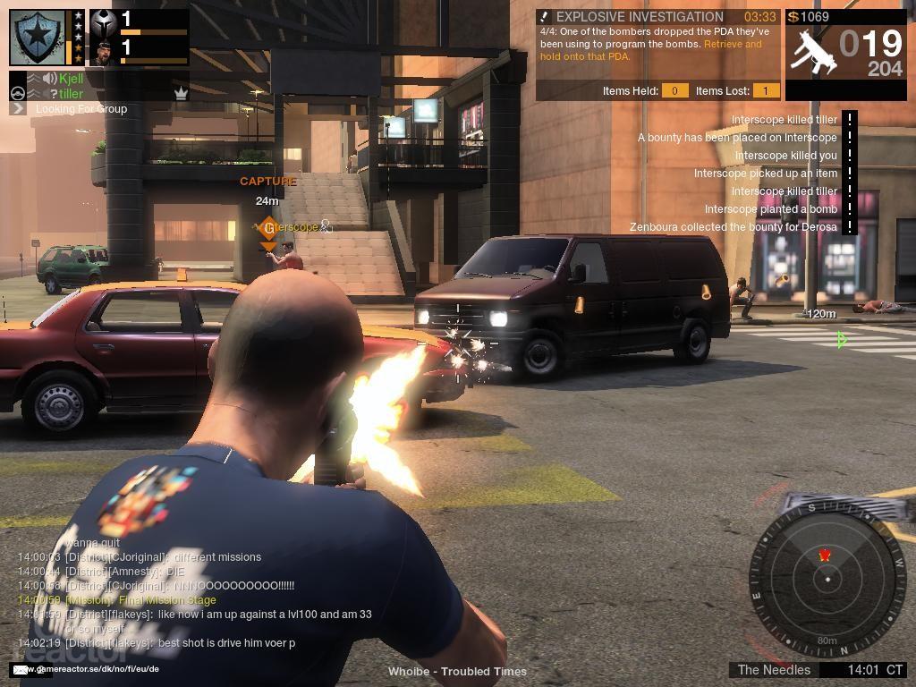 Обзор бесплатной MMO Action игры APB Reloaded.