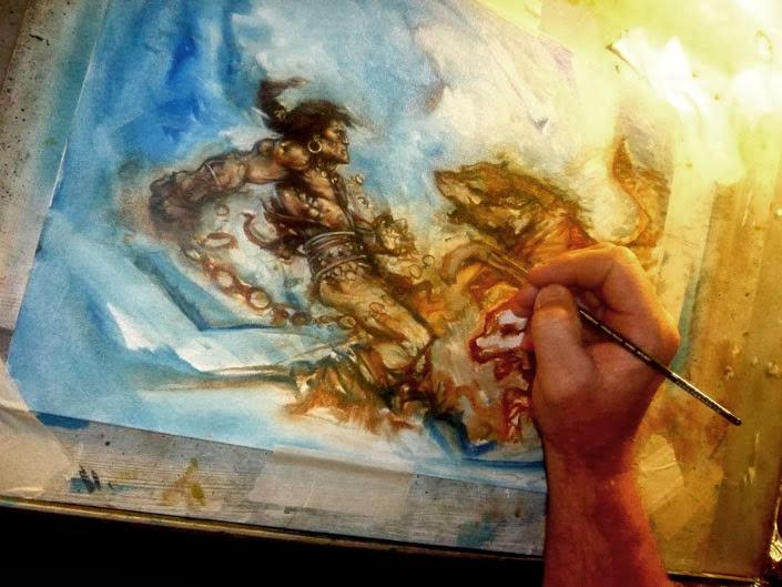 Conan Art By Jeff Lafferty