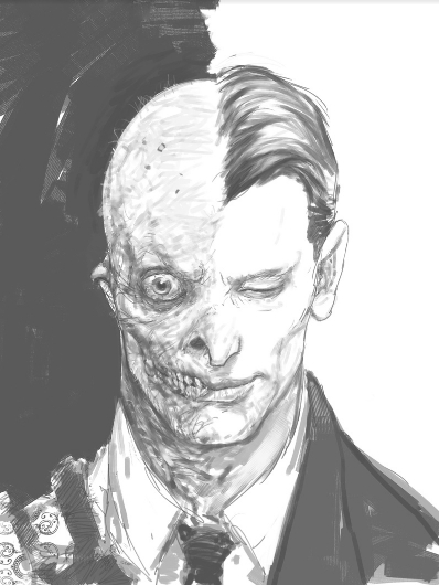 Freaky Unseen 'The Dark Knight' Concept Art By Rob Bliss ...   398 x 530 jpeg 102kB