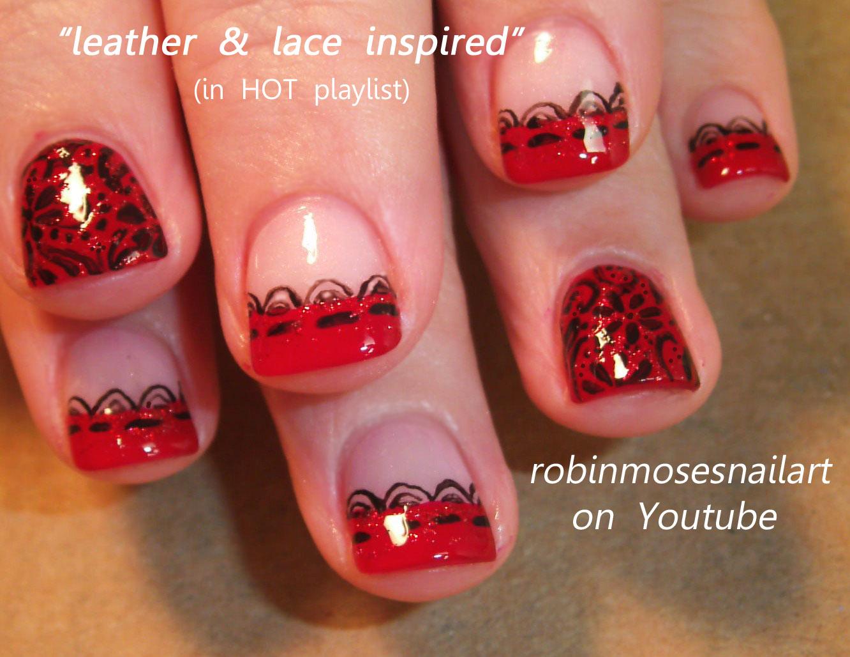 """Nail Art: """"pink and black nails"""" """"pink nails"""" """"black nails"""" """"nail art"""