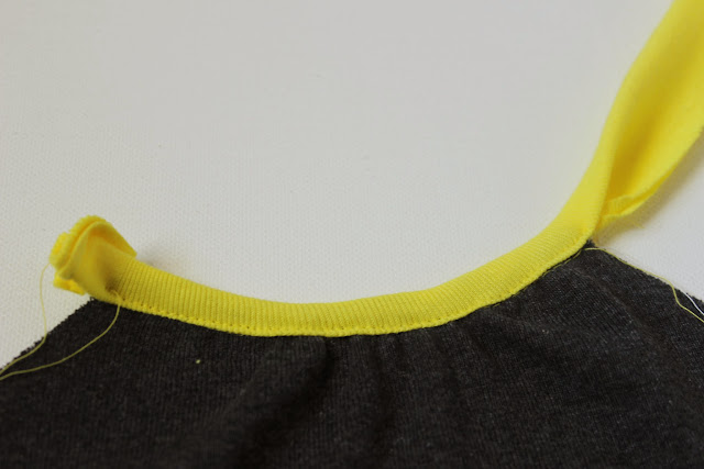 neckline binding sewing tutorial