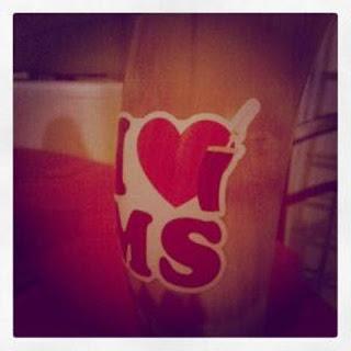 "Adesivo Logo I LOVE MS - ""MÉDIO"""