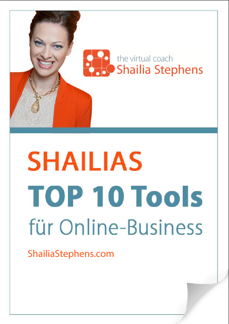 SHAILIAS TOP 10 TOOLS