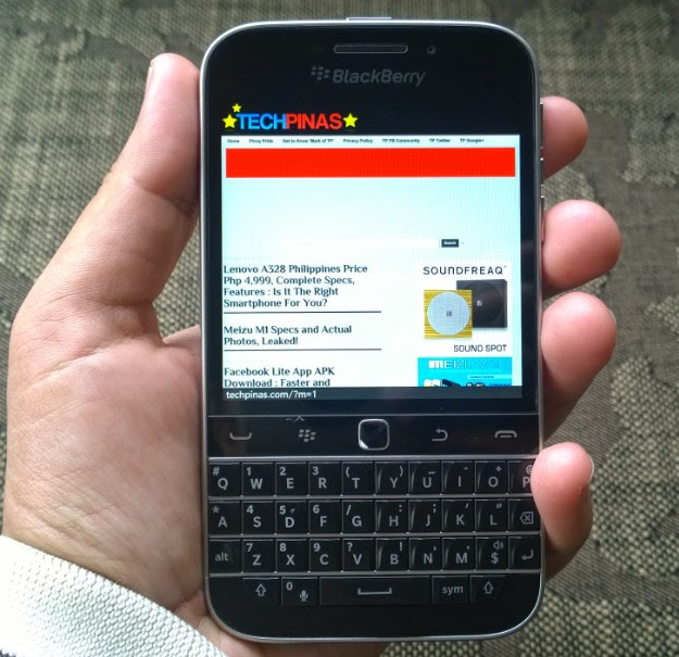 Blackberry classic release date in Australia