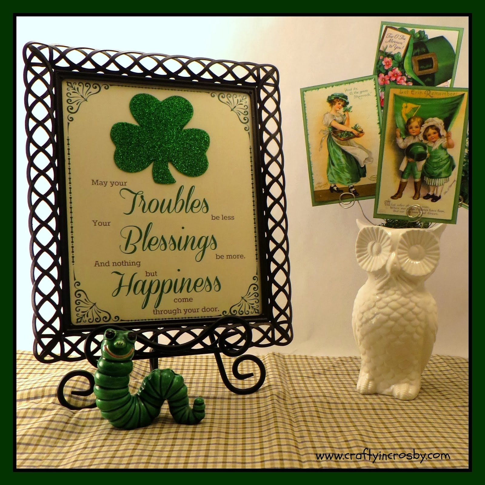irish blessing printable St. Patrick's Day