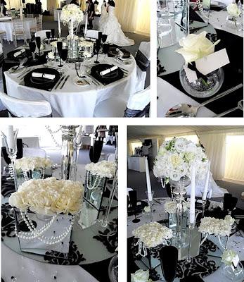 Wedding Inspiration Center: 2012 Elegant Black and White Wedding ...