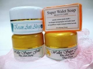 Cream Walet Gold - Paket Perawatan Wajah