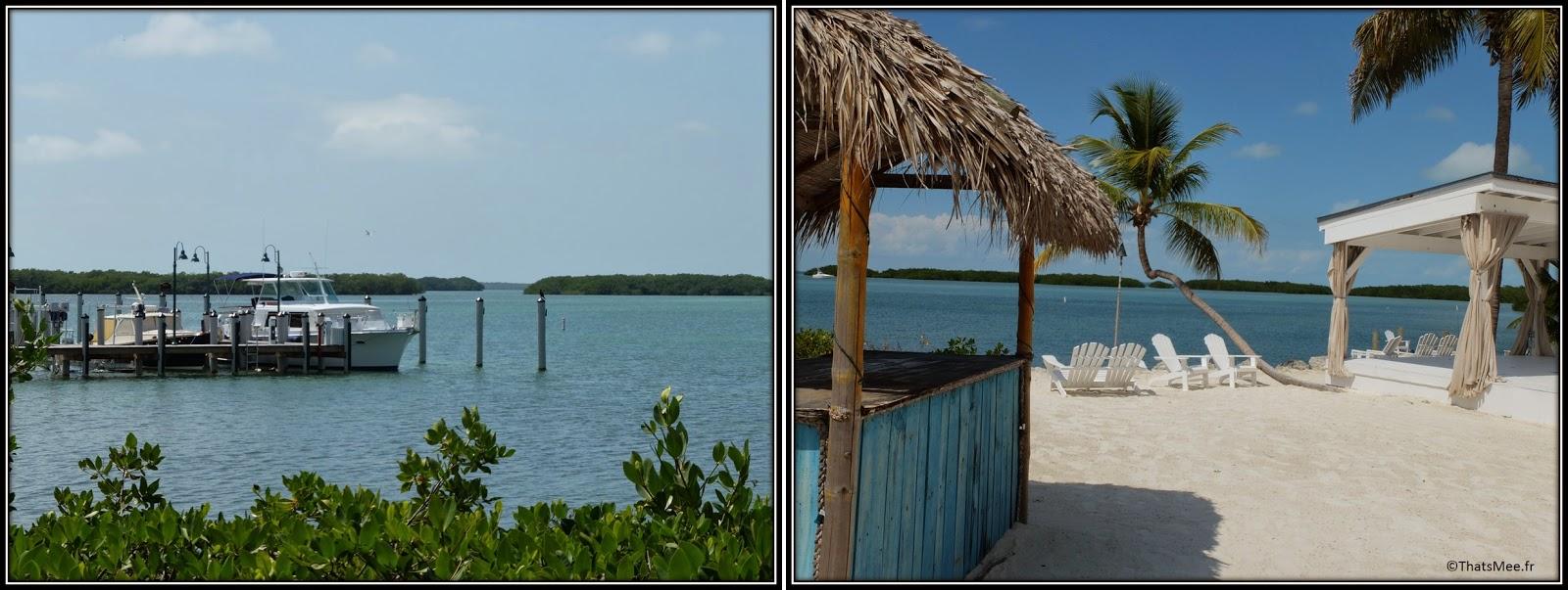 beach Morada Bay Café Islamorada The Keys Florida plage