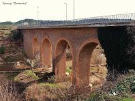 """El Pont de Roc Garcia des del cantó nord. Autor: Francesc """"Caminaire$quot;"""