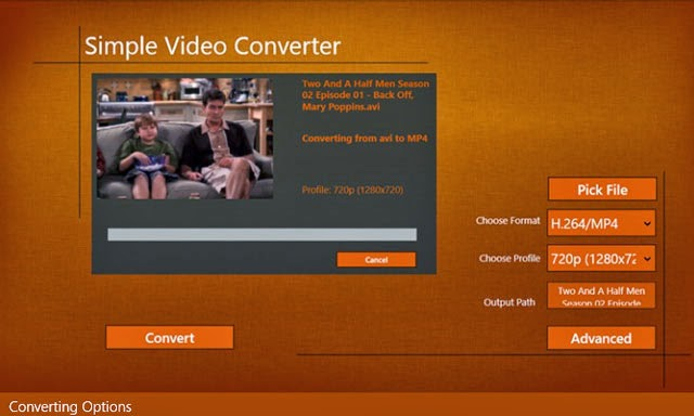 Video converters for Windows 8